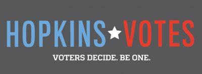 Hopkins Votes logo