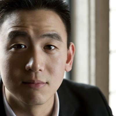 Headshot of Peabody composer Derrick Wang