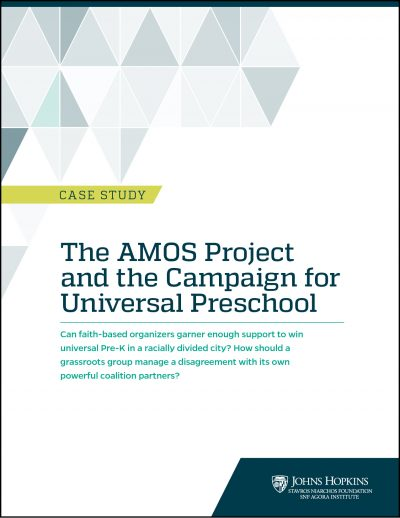 Cover of AMOS case study