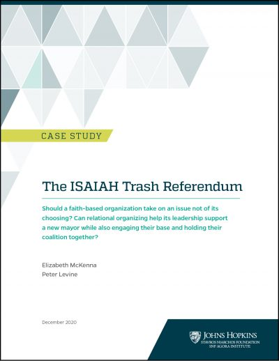 Cover of ISAIAH Case Study