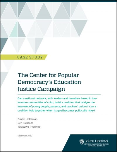 Cover of Center for Popular Democracy case study