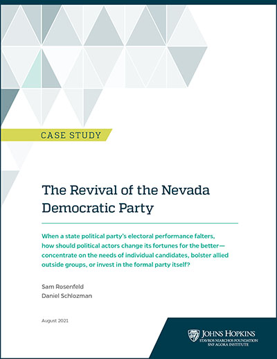 """Cover of """"Revival of Nevada Democratic Party"""" case study"""